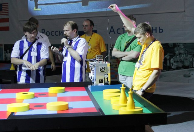Results, Of, The, First, Day, Competitions, Eurobot, 2011
